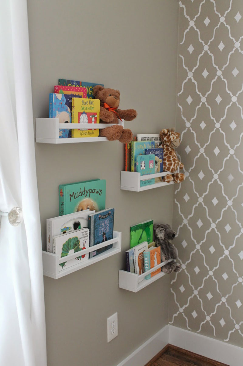 bookshelves for kids rooms