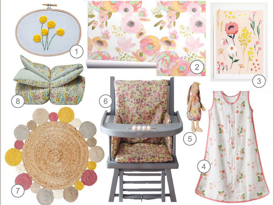 SHOPPING BY THEME : SPRING FLOWERS