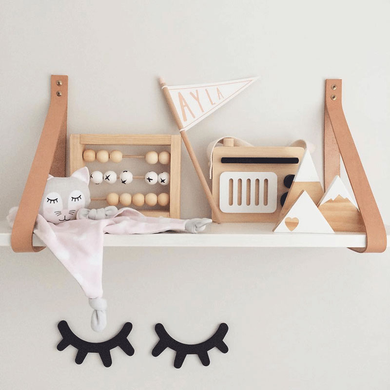 cool wooden kids decor