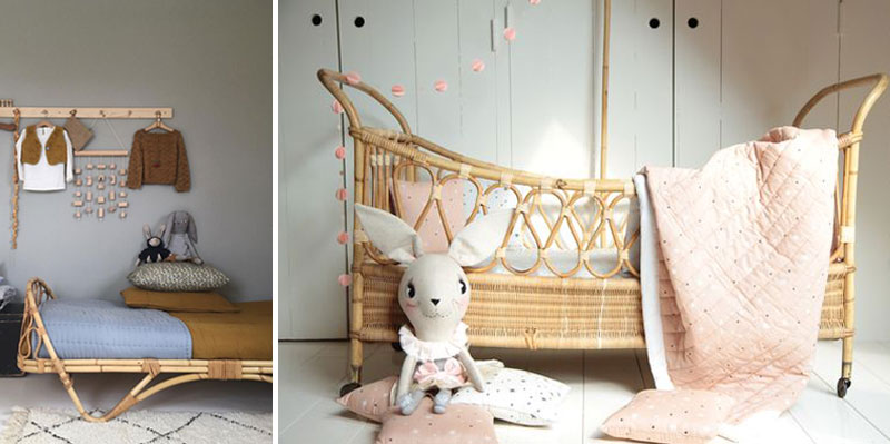 RATTAN IN KIDS' ROOMS