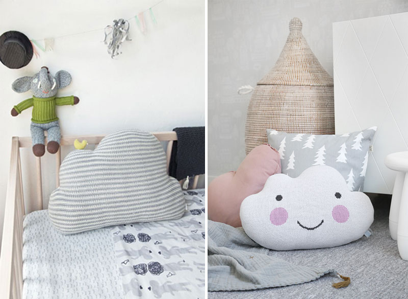 cloud kids cushions pillows