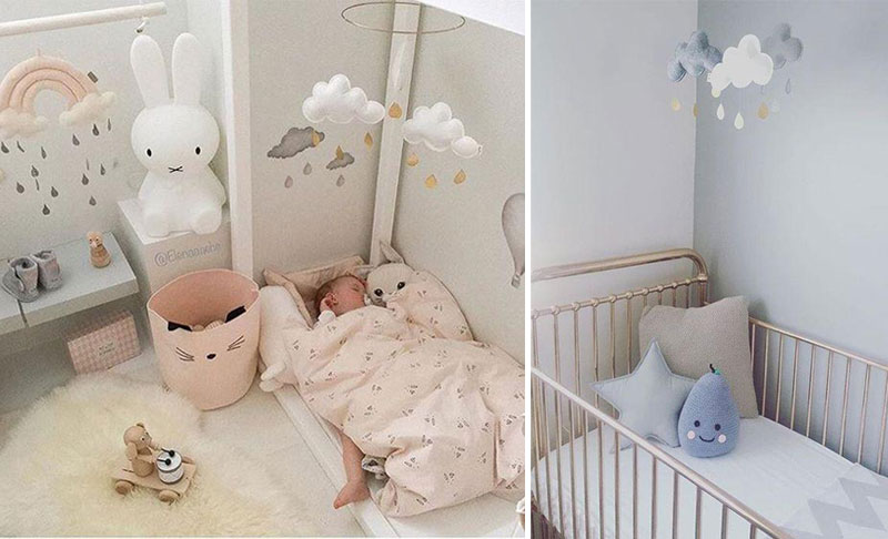 cloud baby nursery decor