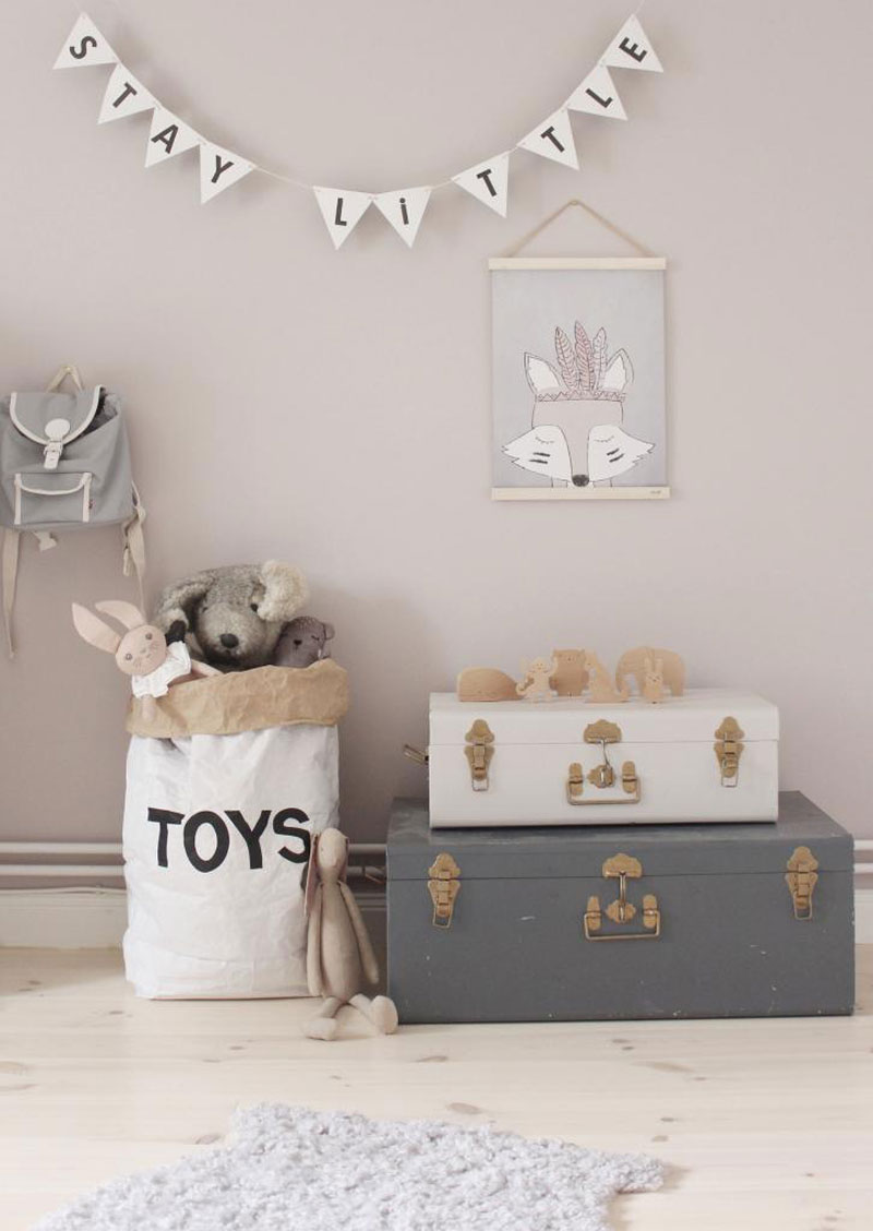 suitcase toy storage