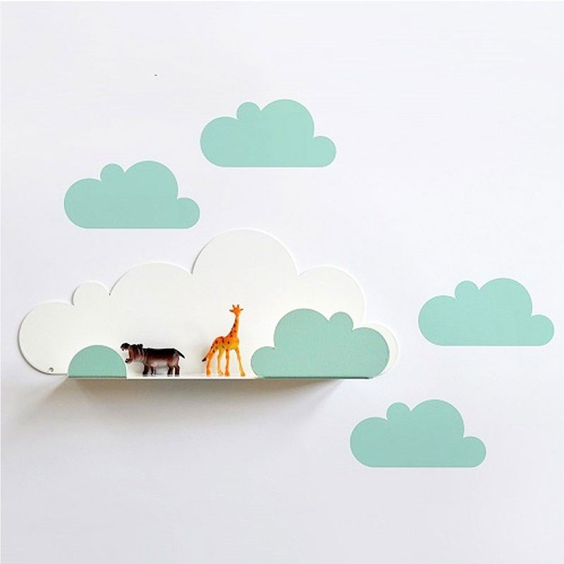 cloud shelf kids room