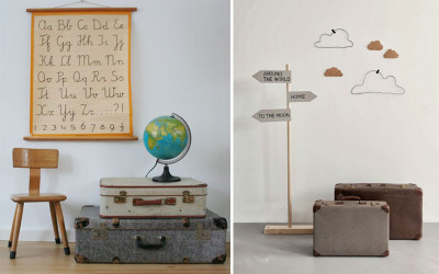TRAVEL-INSPIRED KIDS' ROOMS FOR MINI GLOBETROTTERS
