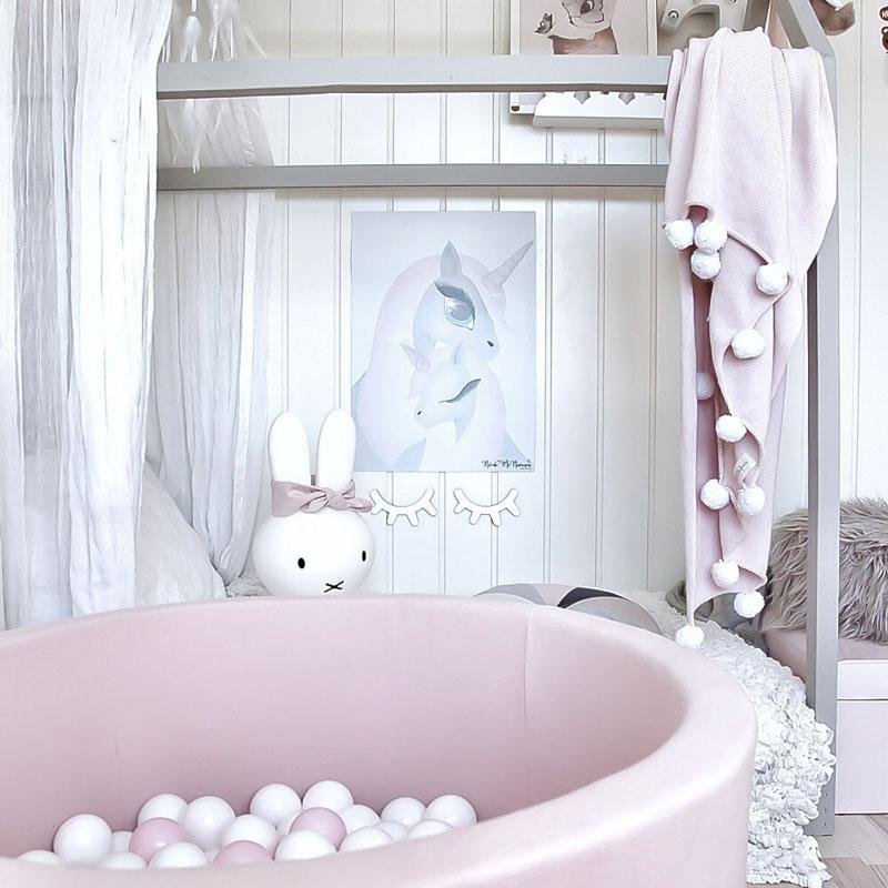 pink ball pit