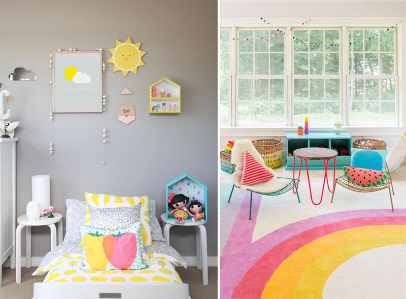 fruity kids décor