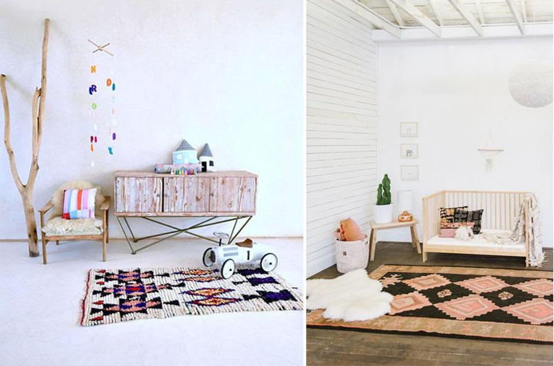 boho style baby cribs