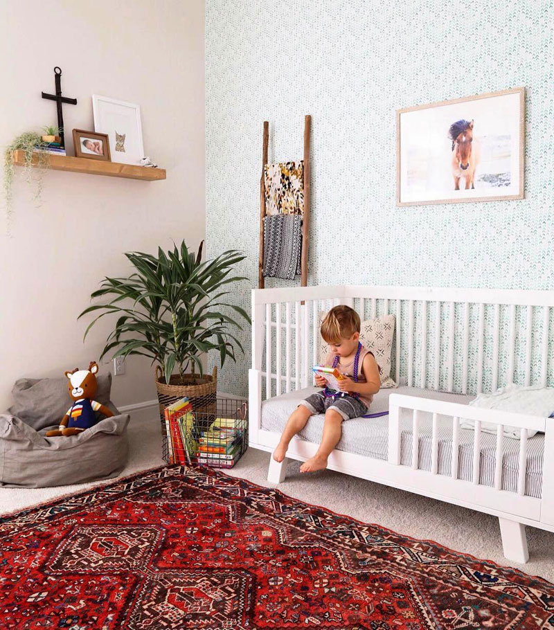 Boho Kids Rooms: Boho Baby Nursery Room Inspiration By Kids Interiors