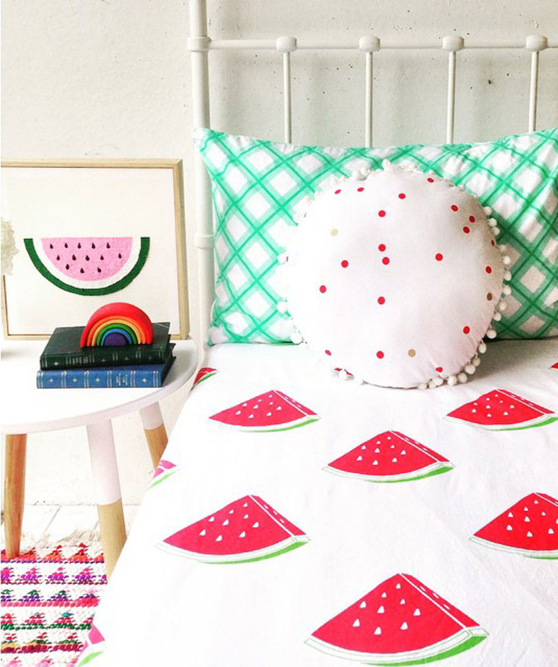 watermelon bedding