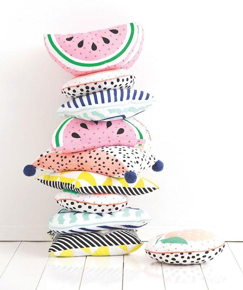 watermelon cushions