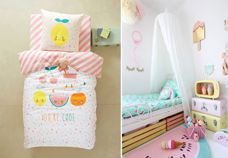 kawaii fruity décor