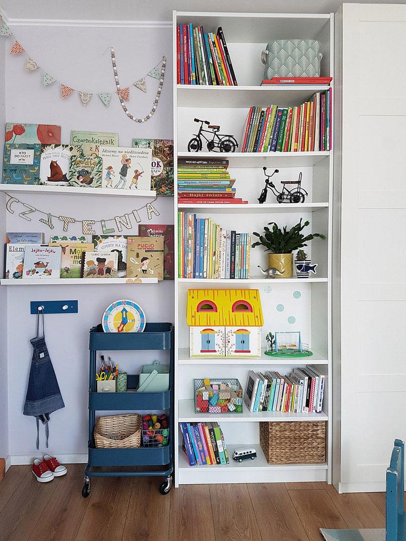 kid's room storage
