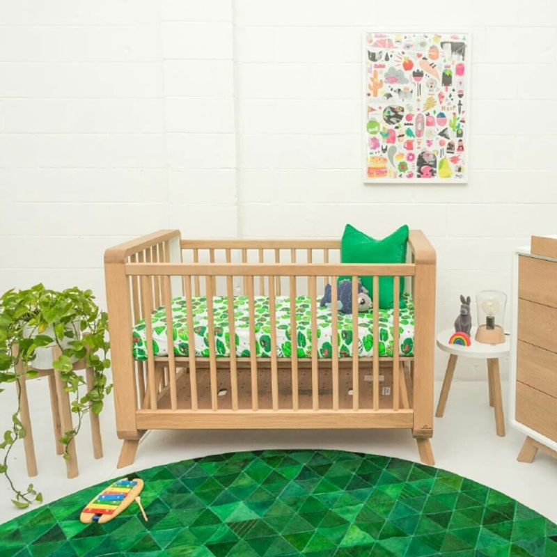 nursery with green