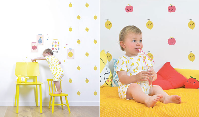 lemon wall decals stickers