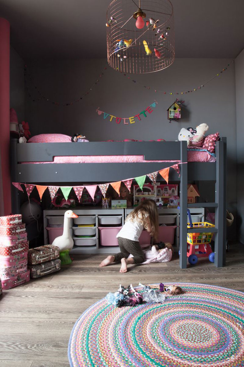 eclectic childrens room