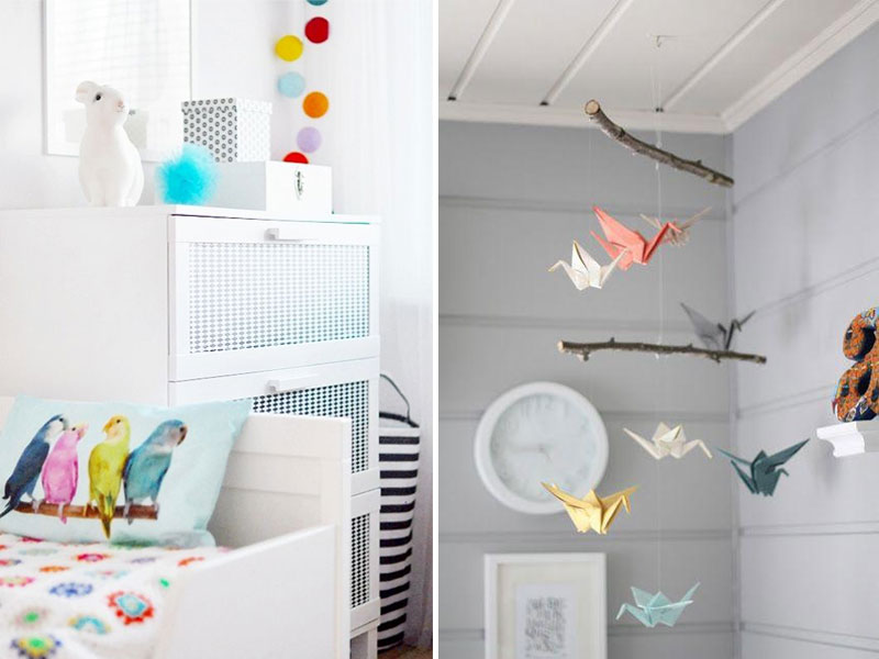bird theme childrens room
