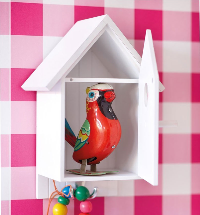 birdhouse for indoor decor
