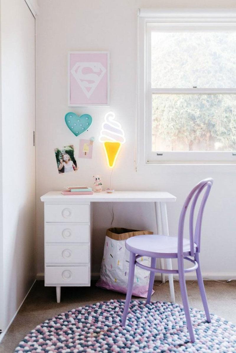 icecream neon light