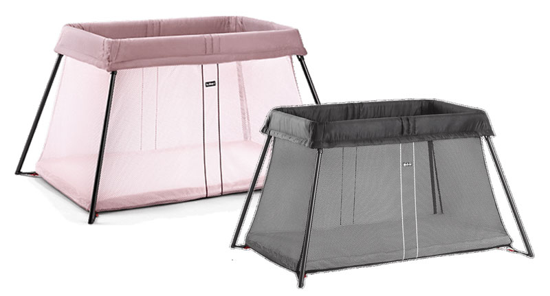 babybjörn travel cot light
