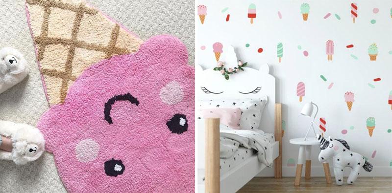 icecream kids decor