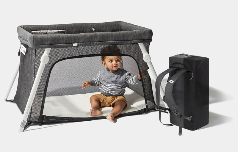 travel cot and bag in one
