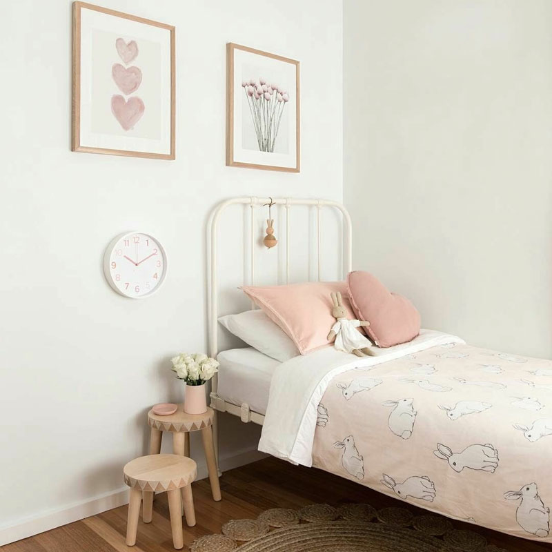 bunny kids bedding