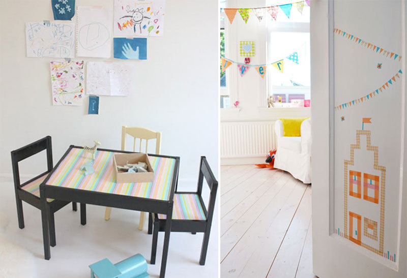 ikea kids table diy ideas