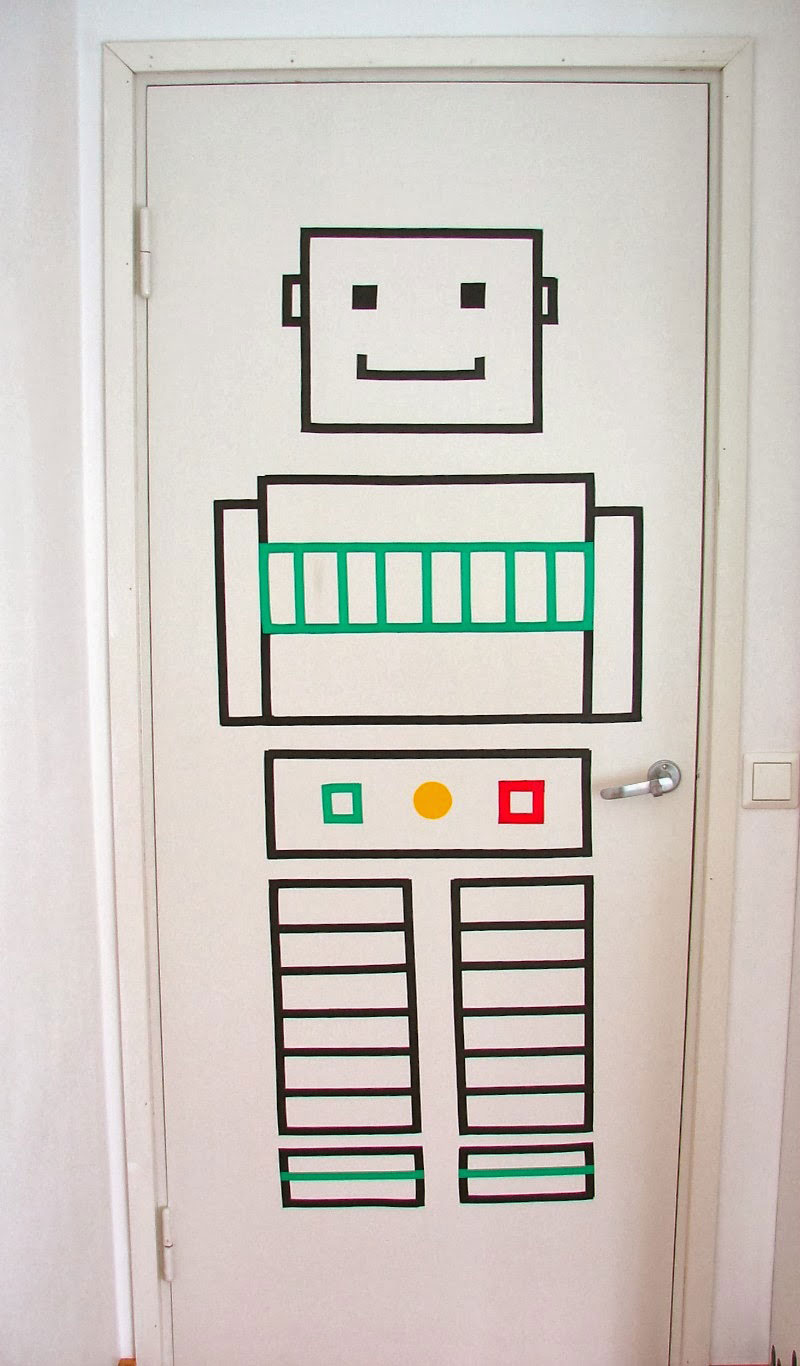 robot design for kid's room