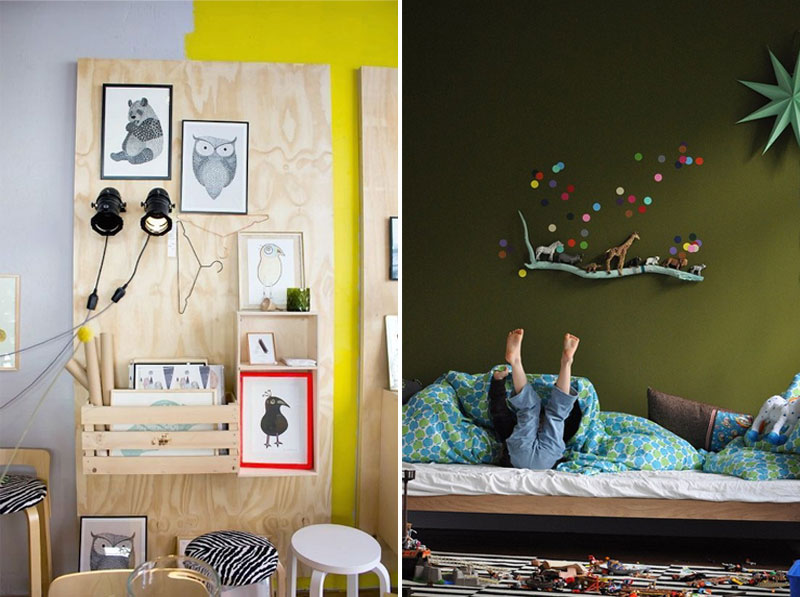 shelf ideas childrens room