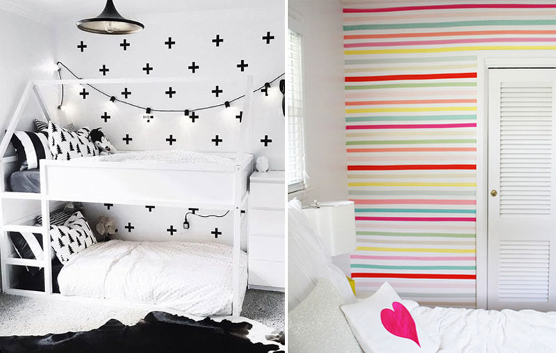 cool washi tape decor ideas