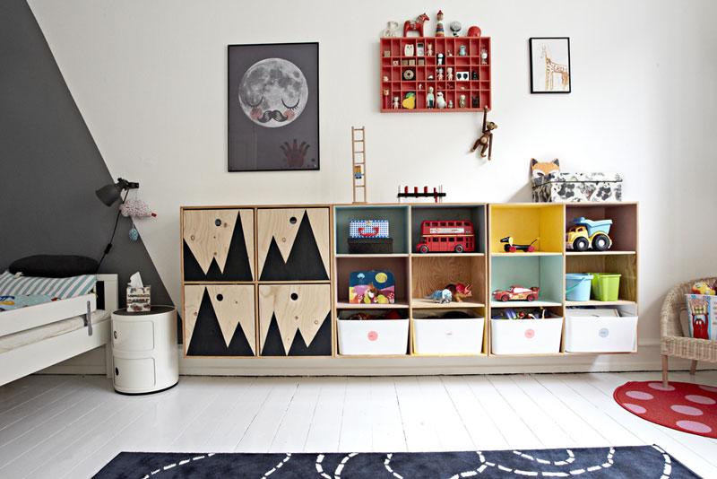 fun storage ideas kids rooms