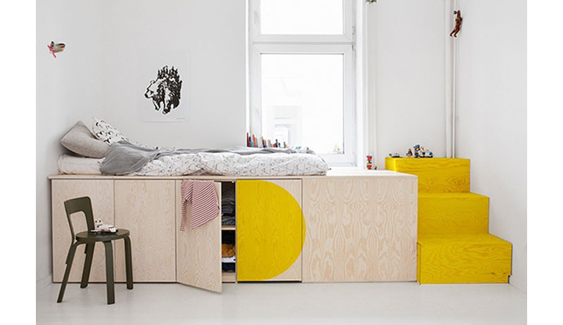 cool storage ideas for childrens rooms