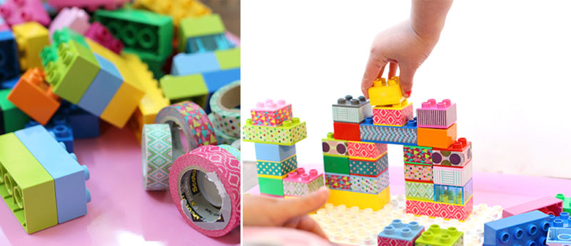 fun colourful washi tape