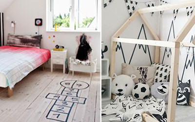 AWESOME WASHI TAPE IDEAS FOR KIDS' ROOMS