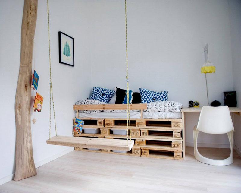 pallets for kids bed