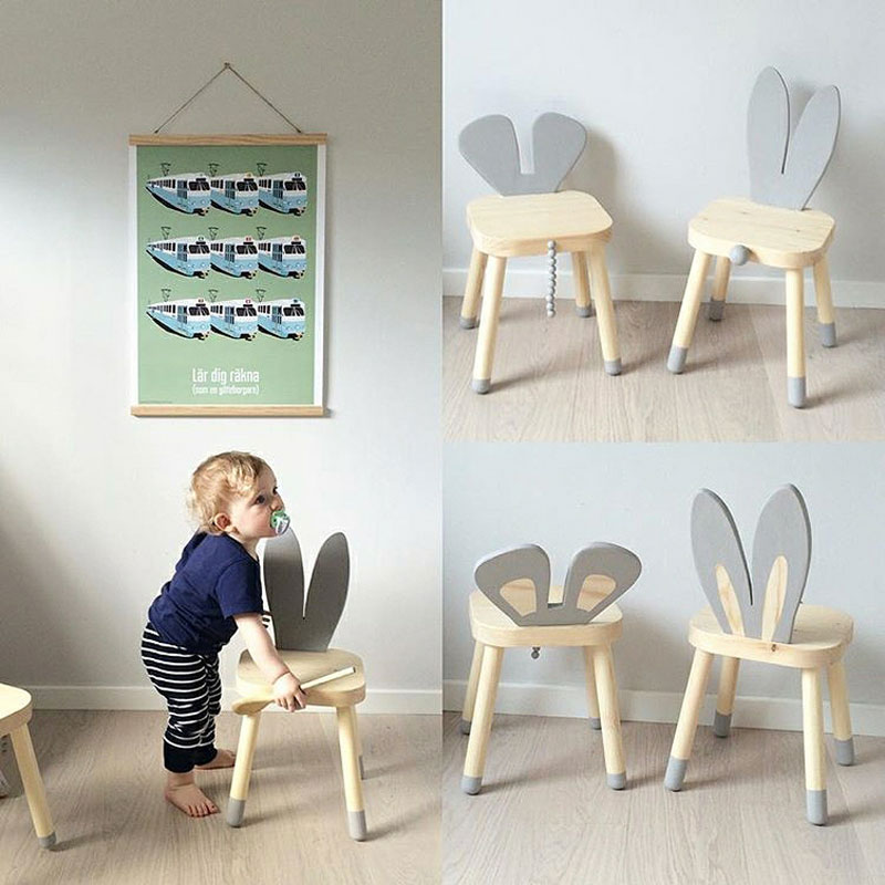 bunny kids chairs