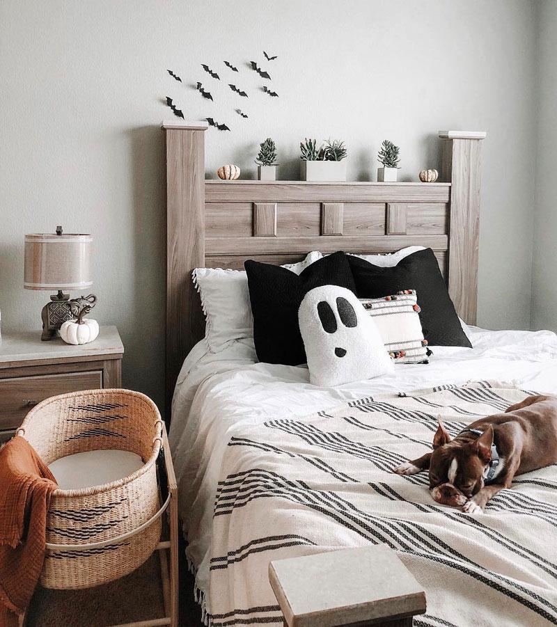 ghost cushion pillow