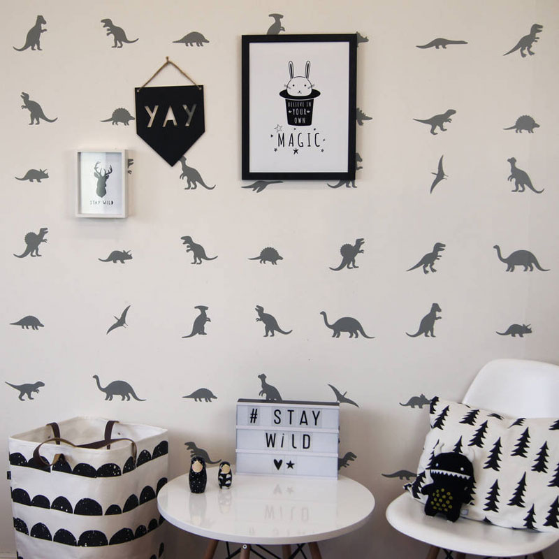 dinosaur t rex wall stickers