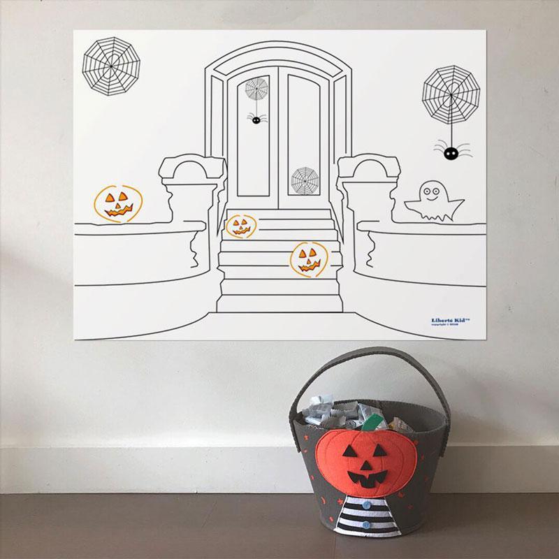 halloween kids poster