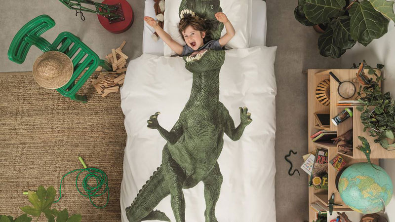 dinosaur kids bedding duvet