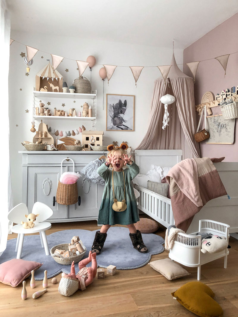 kids room with scandinavian brands
