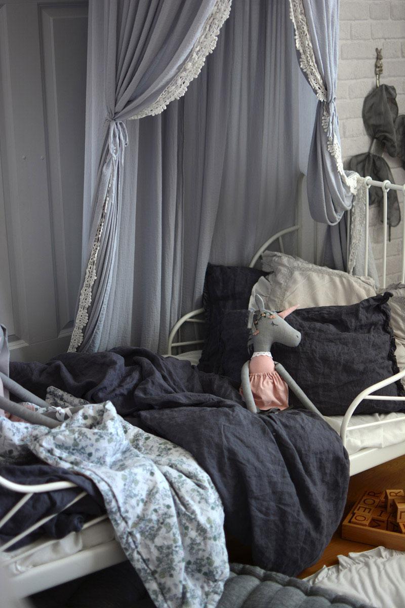 linen kids bedding