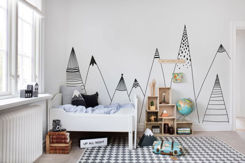 MOUNTAIN MOTIFS IN KIDS' ROOMS