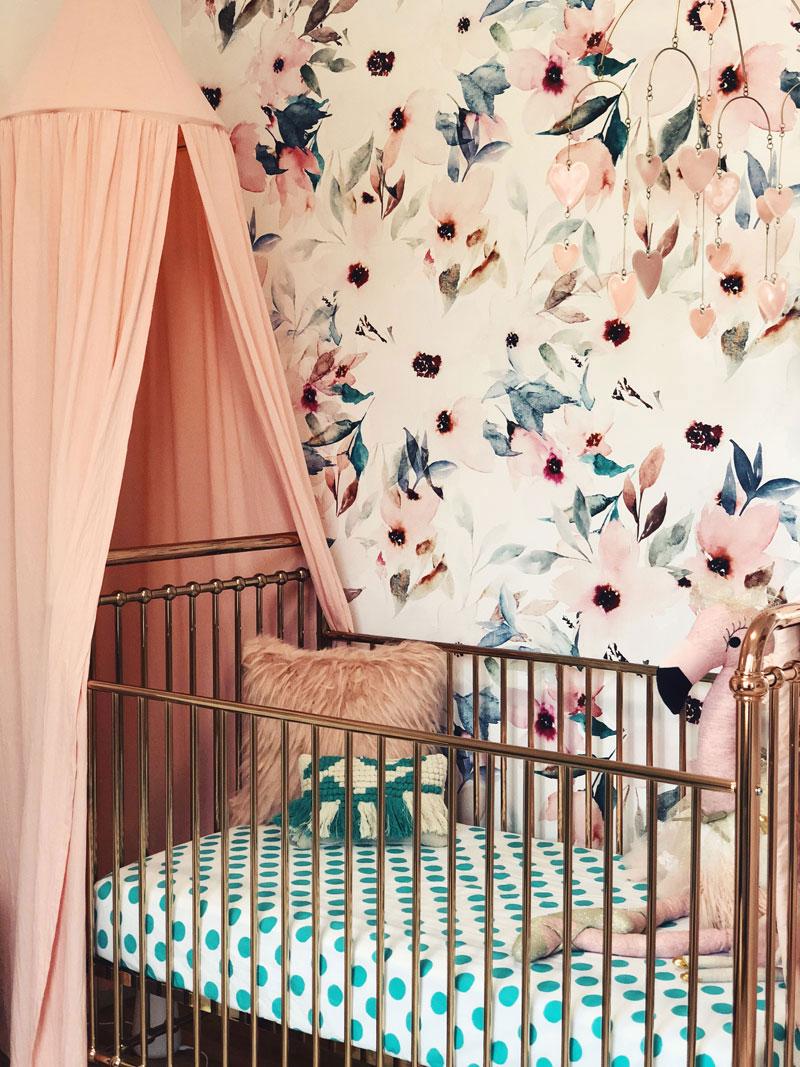 mintgreen nursery bedding
