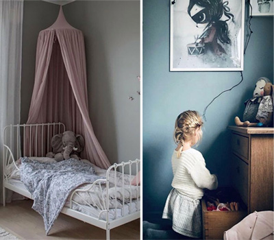 MUTED COLOURS IN KIDS' ROOMS