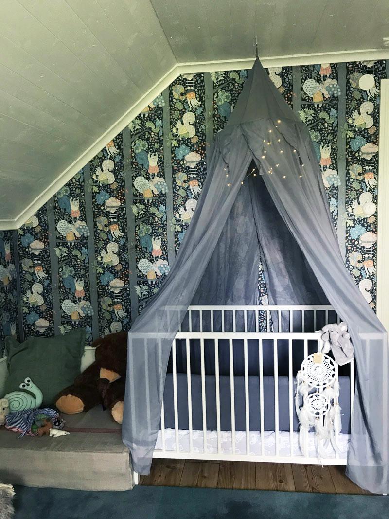 grey canopy nursery