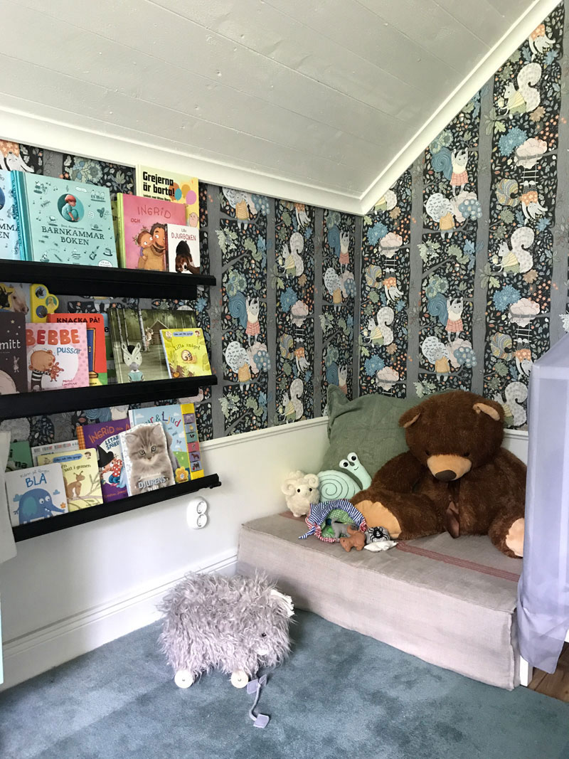cosy reading corner kids room