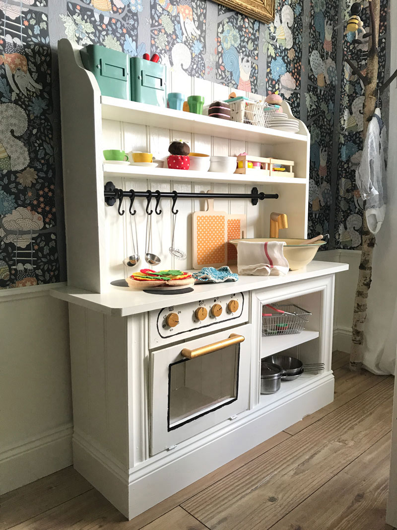 handmade playkitchen diy