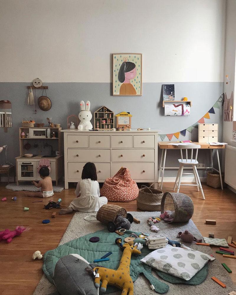 untidy playroom